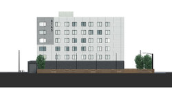 Broadway Apartment Elevation
