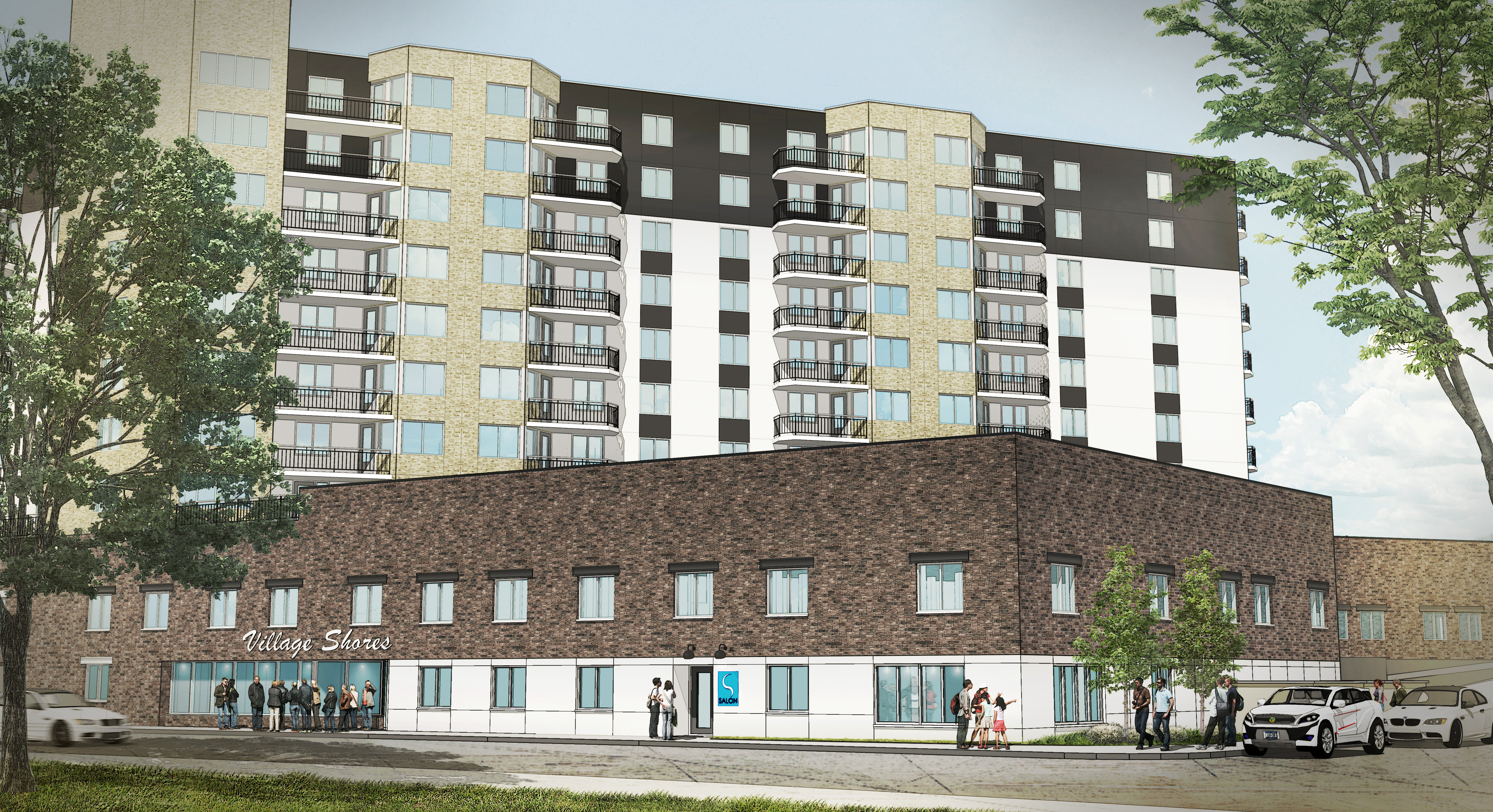 VILLAGE SHORES RENDERING