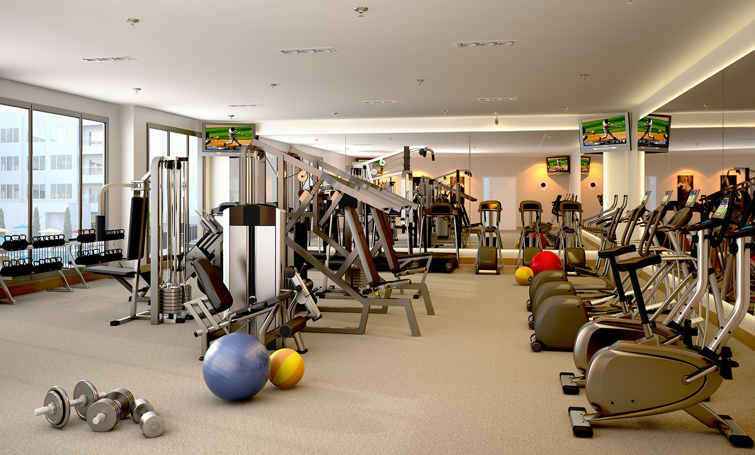 Packard Square - Fitness Center