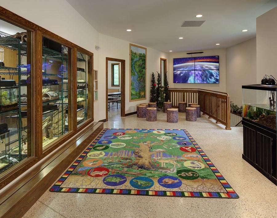 NUSH Nature Center - Lobby