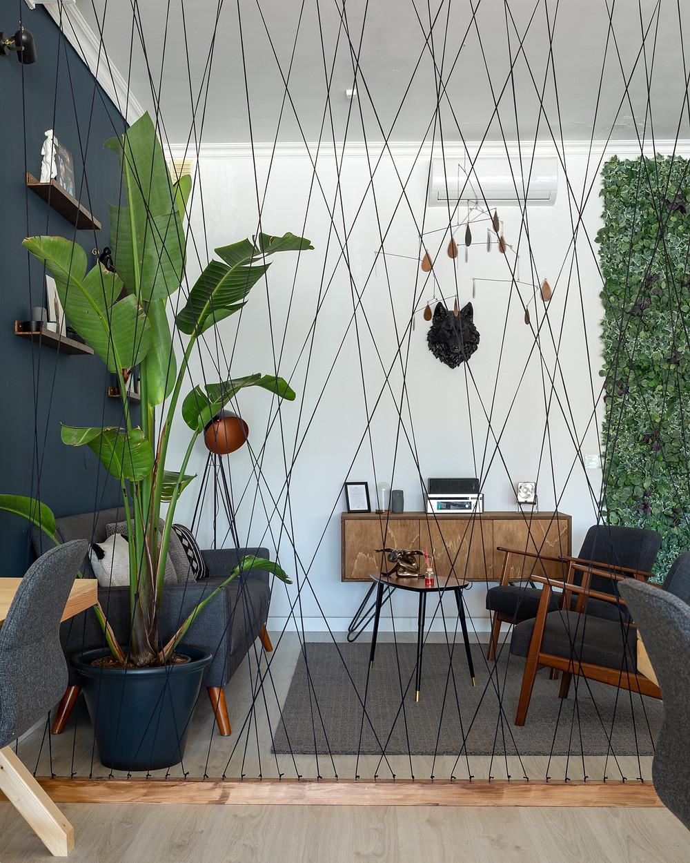 Lounge do LOBO COWORK 2, um dos espaços de coworking do Lobo Cowork.
