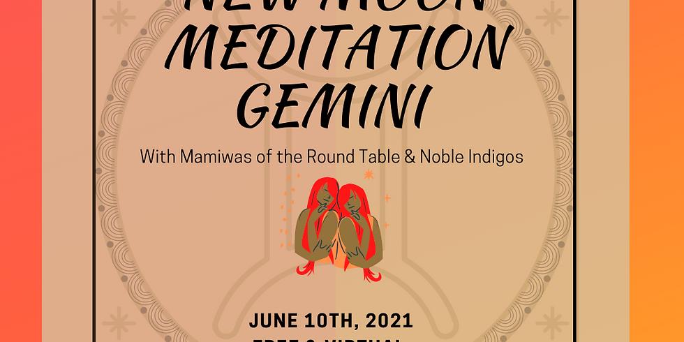 New Moon meditation in GEMINI