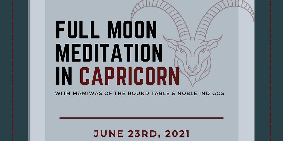 Full Moon in Capricorn Meditation
