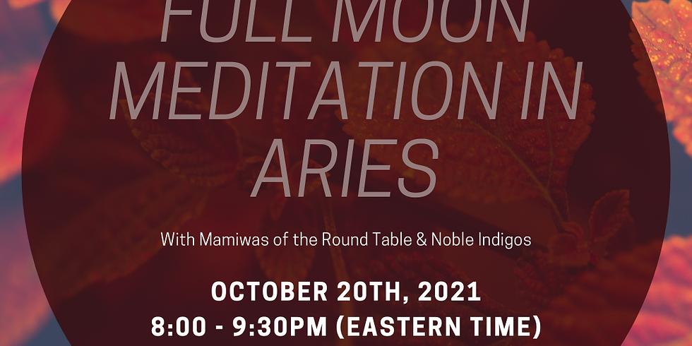 Full Moon Meditation in Aries