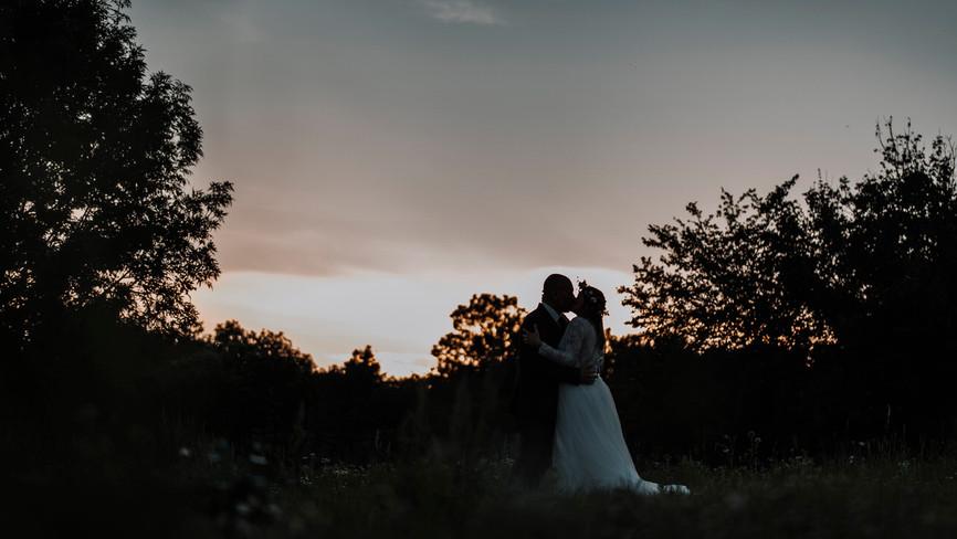 romantic best wedding sunset