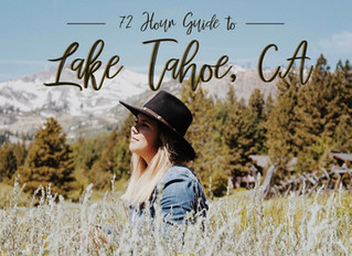 72 Hours in Lake Tahoe