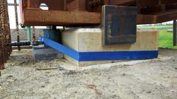 5 Mile Lane Bridge Bearing install