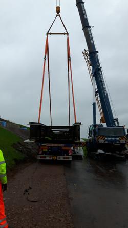 5 Mile Lane Bridge Lifting