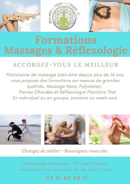 formations de massage ardèche - aubenas