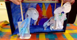 puppet play/painting