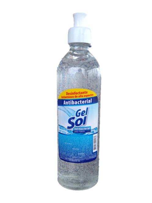 Caja Gel Antibacterial 500 ml X 12 Und