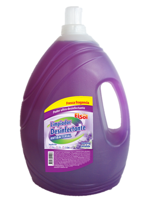 Caja Limpiador Desinfectante 4L X 3 Und
