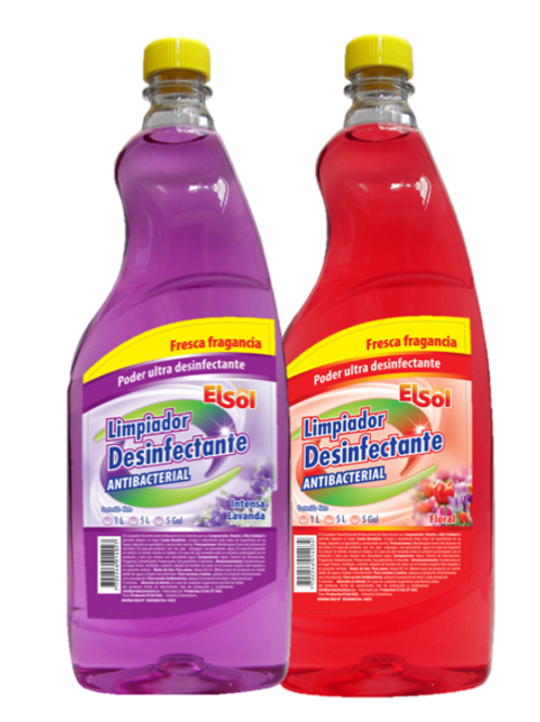 Caja Limpiador Desinfectante 1L X 12 Und