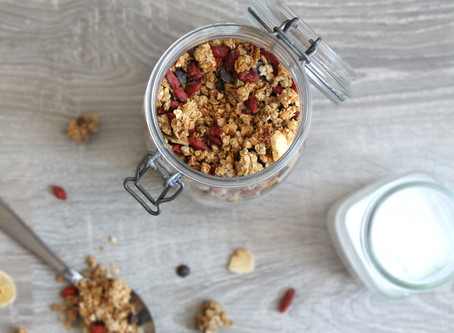 Recette Granola croustillant et gourmand