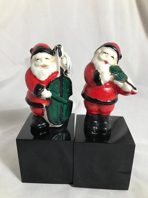 Santa salt and pepper shakers