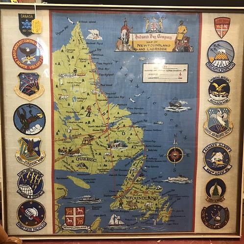 HBC map of Newfoundland and Labrador