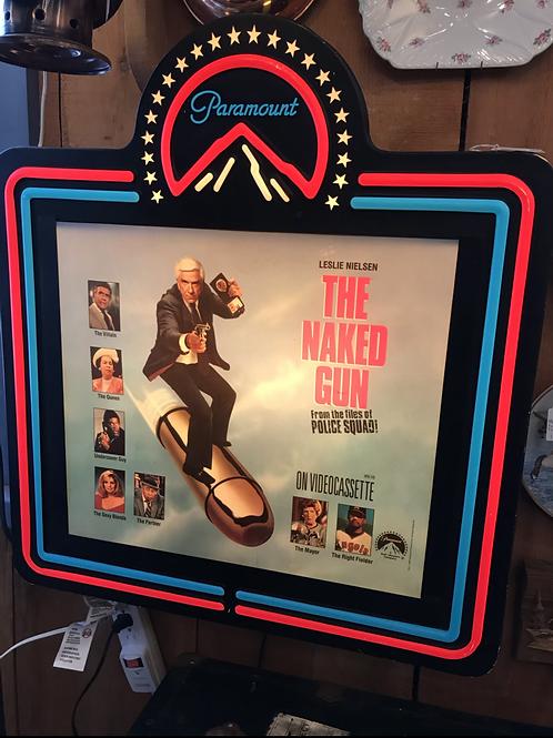 Paramount Movie promo display