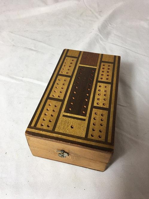 Wood Cribbage Game
