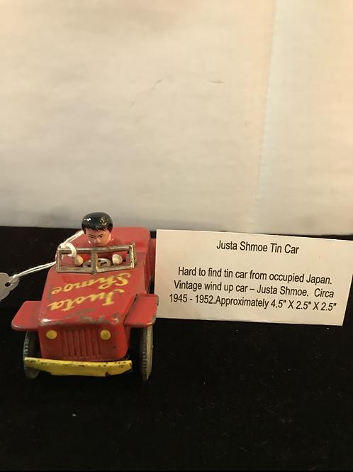 Justa Shmoe Tin Car