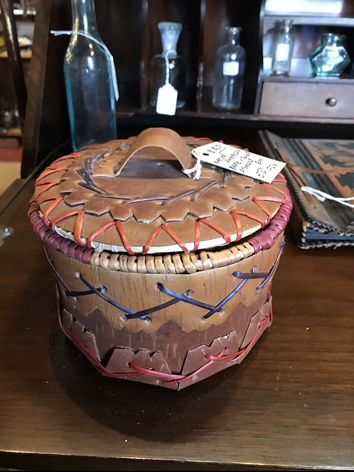Native American Storage Box