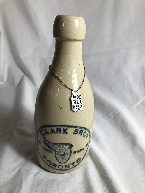 Clark Bros Toronto Ginger Beer Bottle