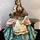 Thumbnail: Capodimonte Sitting Lady with Side Table