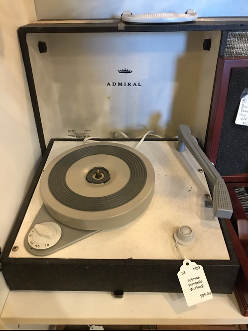 Admiral Turntable  V48