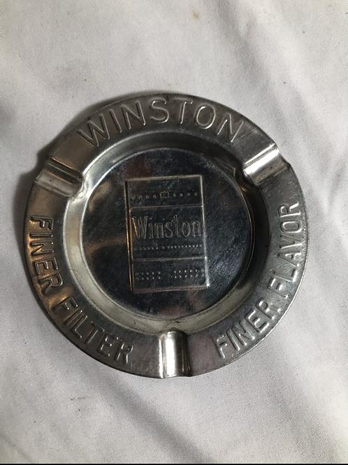 Vintage Winston Tin Ashtray