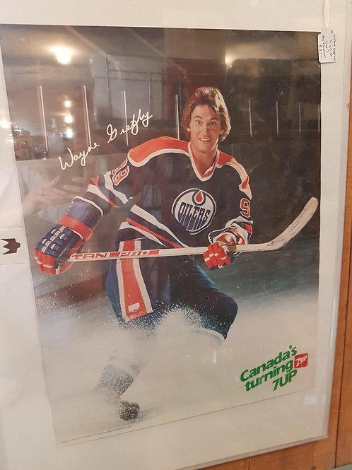 Wayne Gretzky  7 up Ad