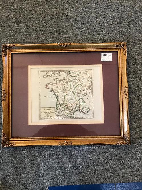 France Map 1748
