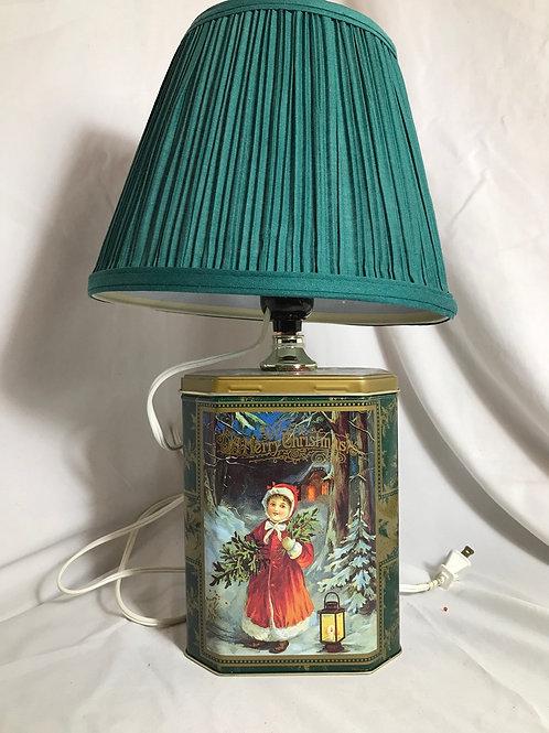 Christmas Tin lamp