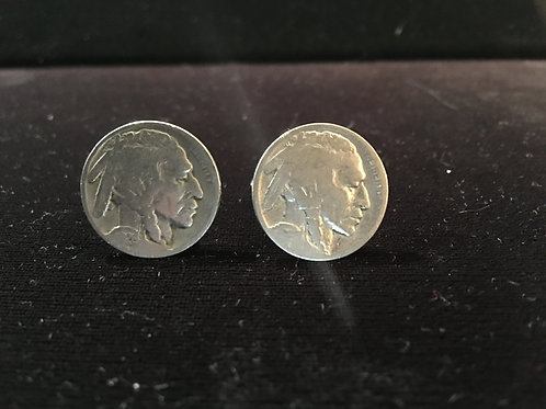 Indian Head Nickel Cufflinks