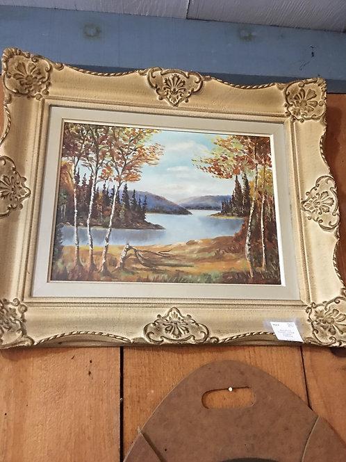 Original Painting in Ornate Frame