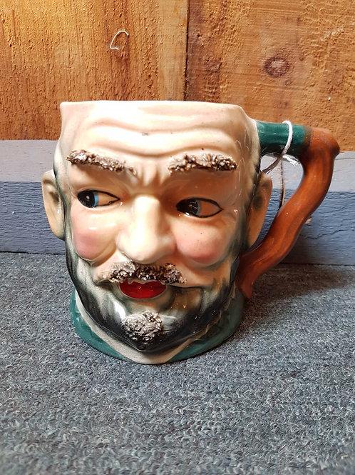 1950s hairy mug face