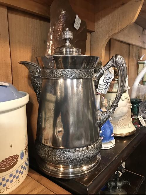 Meriden Quadruple Plate Coffee Pot