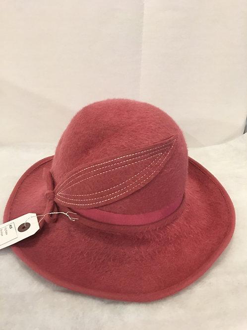 Pink Beaver Fur Hat