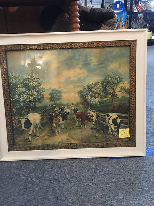 Framed Prints - Cows or Sheep