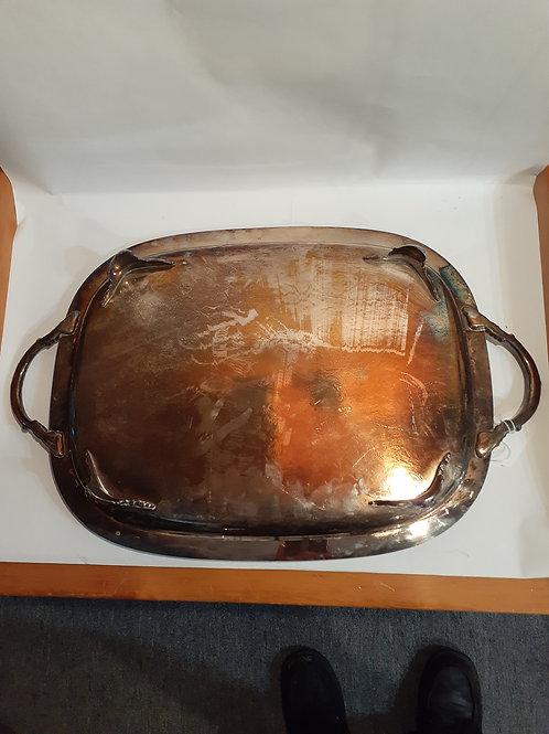 Silver Plate Tray  V7