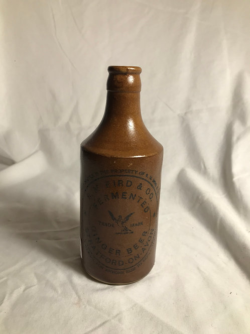 RM Bird Ginger Beer Bottle