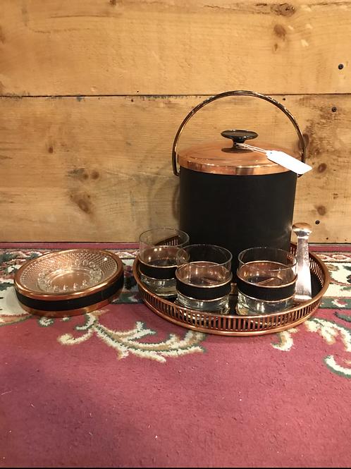 Vintage Coppercraft Guild Serving Set