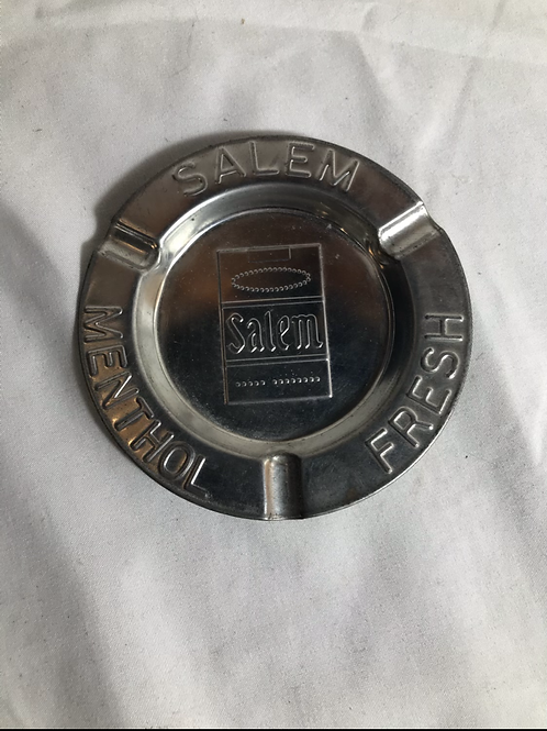 Vintage Salem Tin Ashtray