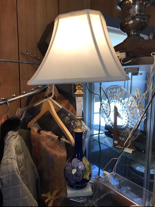 Moorcroft Pottery Table Lamp