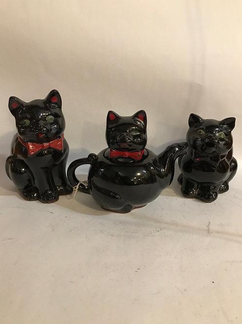 Black Cat Tea set