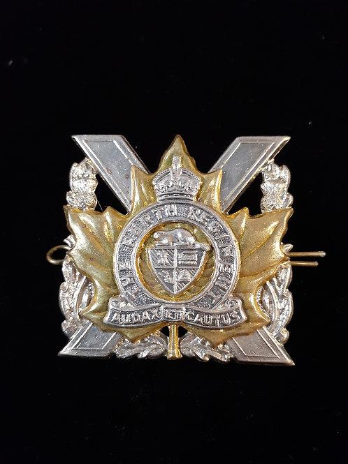 Perth Regiment Kings Crown Pin