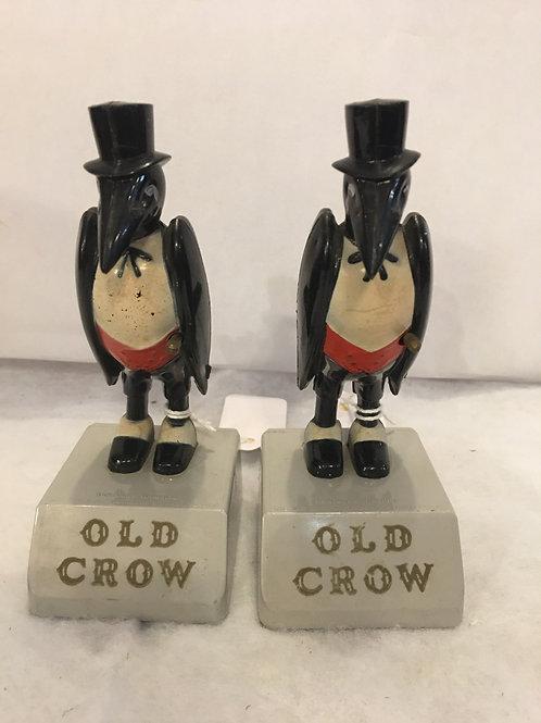 Old Crow Advertising Figure
