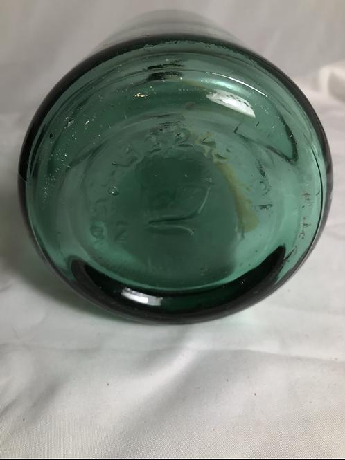 Green Seltzer Bottle