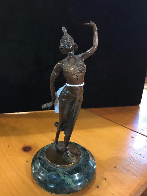 Art Deco Style Bonze Statue, V50