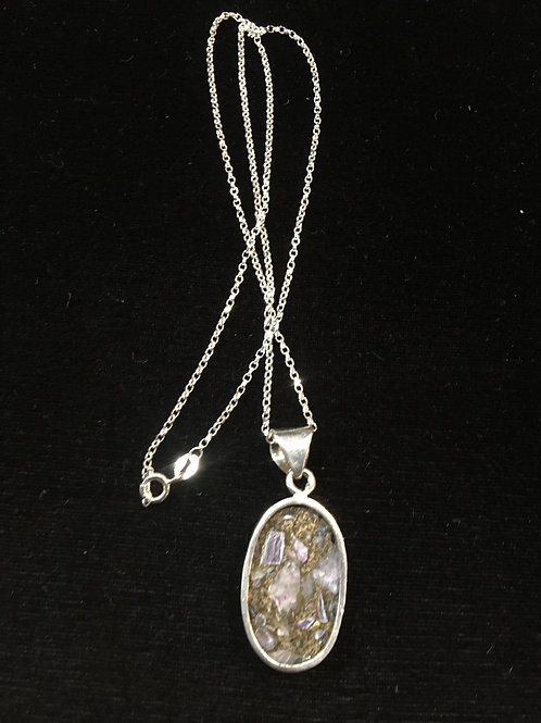 Sterling Pendant and Chain