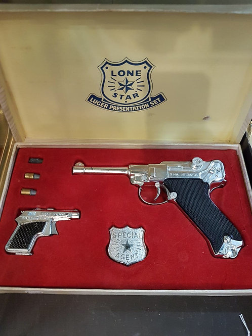 Lone Star cap gun set