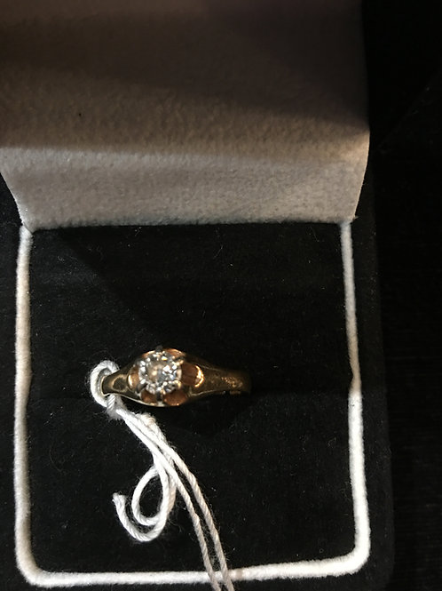 Diamond Engagement Ring with Appraisal